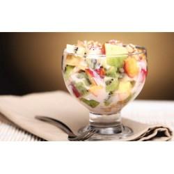 Фрукты в йогурте